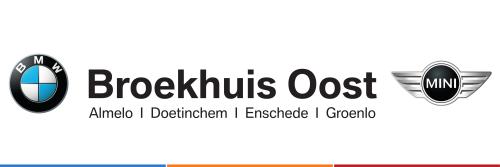 Broekhuis Oost is een officiële BMW dealer en heeft haar vestigingen in  Enschede, Almelo, Doetinchem en Groenlo.  Zij hebben maar één doelstelling: u onbezorgd rijplezier bezorgen.