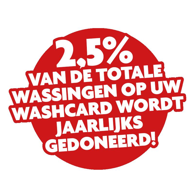 Label 2.5 procent